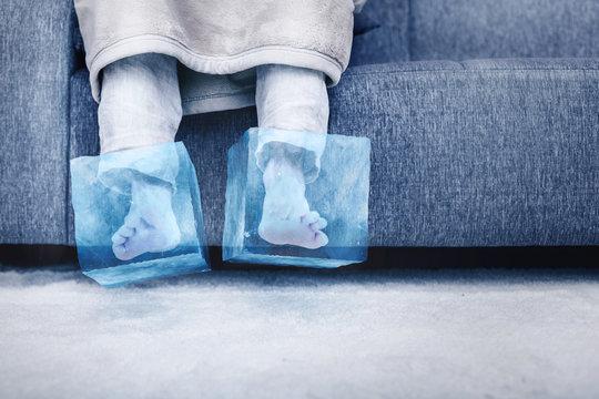 Eiskalte Füße