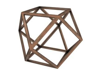 Hexaedron, Leonardo da Vinci