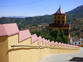 Carratraca, pueblo de la provincia de Málaga, en España, situado en la Serranía de Ronda