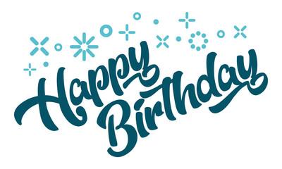 Happy Birthday Greeting Invitation Card
