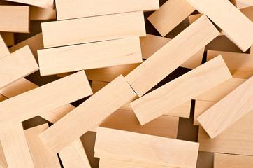 Wooden block background macro photo
