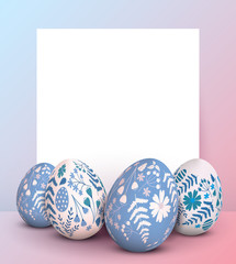 Stylish Easter template