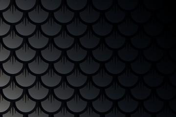 dark fish scale backdrop vector