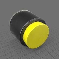Yellow raised button