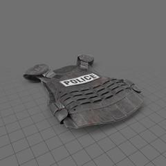Bulletproof riot gear vest 3