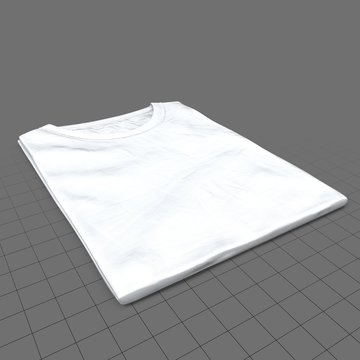Folded crew neck shirt without tag (womens)