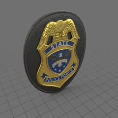 Law enforcement badge 3
