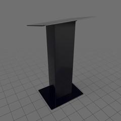 Simple stage podium