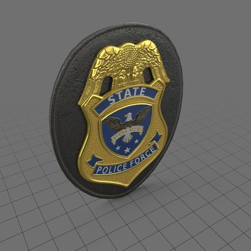 Law enforcement badge 3