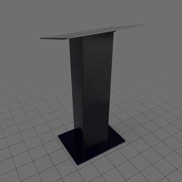 Simple stage podium