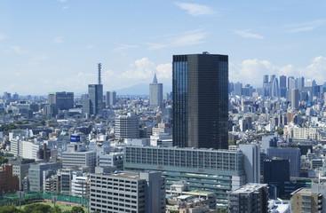 東京風景 ワイド 新宿 代々木 飯田橋 四谷
