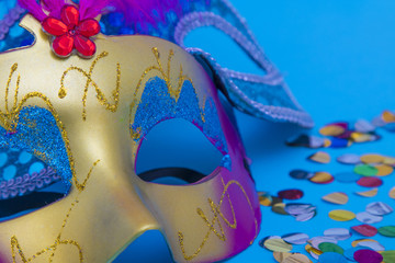 Fotobehang Carnaval masks and disguises, carnival concept