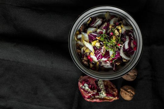 Chicorée-Radicchio-Salat