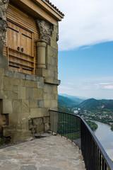 Jvari Monastery, Mtskheta, Georgia, Eastern Europe - built in the 6th century overlooking Mtkvari River.