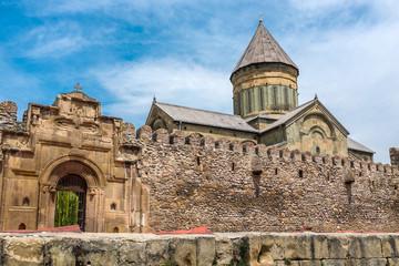 Svetitskhoveli Cathedral, Mtskheta, Georgia, Eastern Europe.
