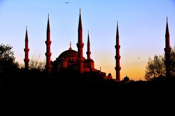 Sultanahmet during sunset, Istanbul