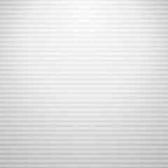 Horizontal white striped grey background. Vector illustration.