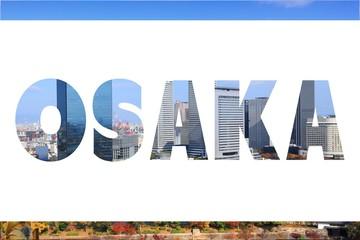 Osaka word sign