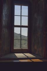 Monastery window