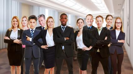 Business Team in Konferenzraum