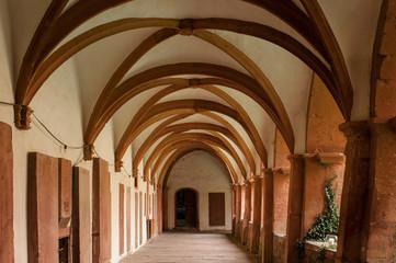 Kreuzgang im Kloster Bronnbach