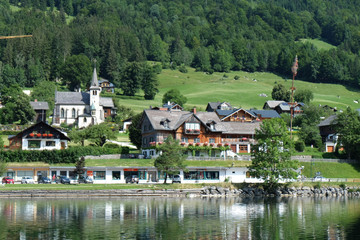 Dorf am Grundlsee