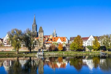 Ulm, Münster, Stadtlandschaft