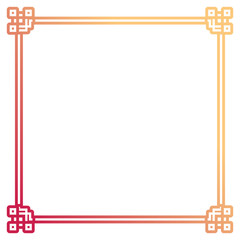 square frame  decorative  design
