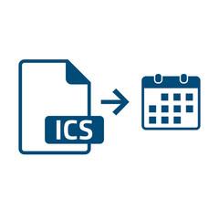 ICS Datei Kalenderimport - Termin speichern - Icon