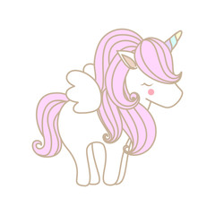 unicorn with wing