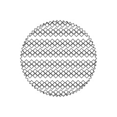 line circle with graphic seamless creative background texture