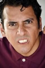 Hispanic Person Under Stress