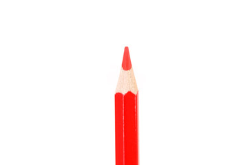 Colored pencil isolated on white
