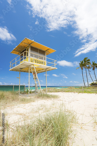 0d4a6676033 Lifeguard tower at Main Beach on the Gold Coast