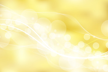 Gold background and texture with bokeh curve lines light. elegant, shiny, luxury, Golden gradient mesh.