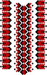 """Stylizowany etniczny ornament """"ukraiński haft"""" - 189592850"""