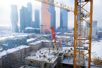 Building construction and development business