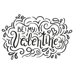 By my Valentine lettering inc