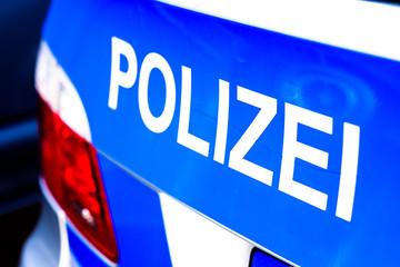 police car in germany
