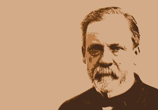 Pasteur - médecine - portrait - Louis Pasteur - personnage historique - scientifique - vaccin