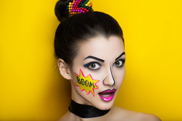 pop art girl