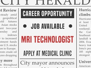 MRI technologist job