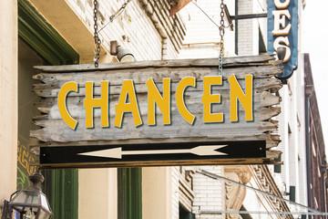 Schild 279 - Chancen