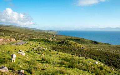 The North Coast 500 road, Scotland