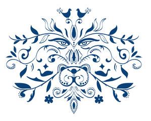 vector tattoo tribal element