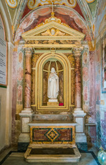Santa Cecilia in Trastevere Church in Rome, Italy.