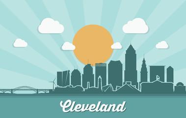 Cleveland skyline - Ohio