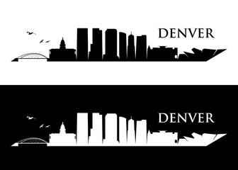 Denver skyline, Colorado