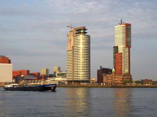 very nice view of rotterdam