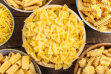 Different Types of Raw Pastas